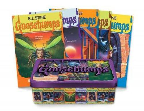 Goosebumps 25th Anniversary Retro Set by R.L. Stine Paperback Book Free Shipping