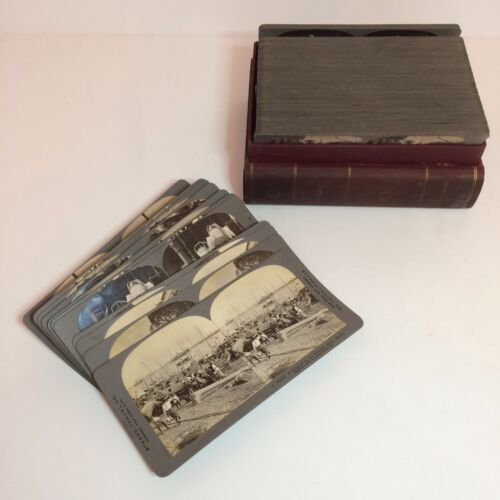 Stereo-Travel Co. Stereoview Images - Burma - 98/100 With Original Box