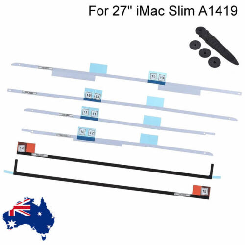 """New 27"""" Apple iMac A1419 LCD Screen Adhesive Stickers Tape and Opening Tool"""