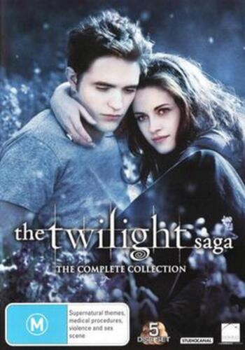 Twilight Saga: The Complete Collection - DVD Region 4 Free Shipping!