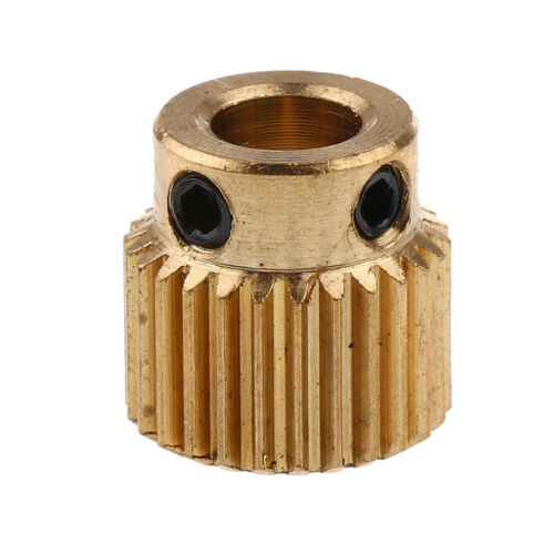 Extruder Pulley 26Teeth Bore 5mm Drive Gear for 1.75mm Filament 3D Printer