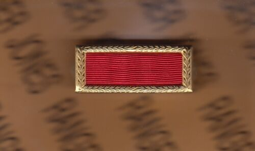 US ARMY MERITORIOUS UNIT COMMENDATION PUC initial award ribbon badge Army - 66529