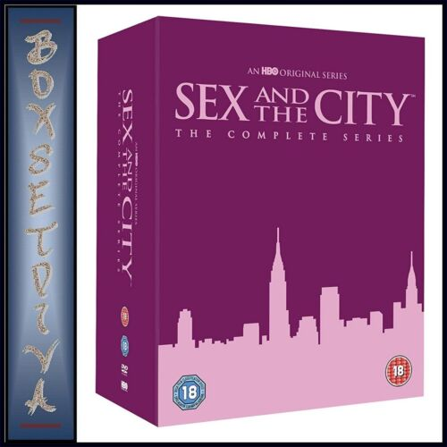 SEX AND THE CITY THE COMPLETE SERIES SEASONS 1 2 3 4 5 & 6  **  BRAND NEW DVD