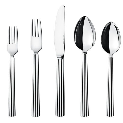 Bernadotte by Georg Jensen Stainless Steel Flatware Set 4 Service 20 Pcs New