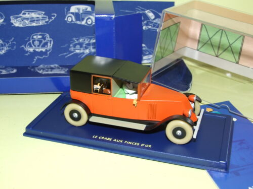 VOITURE TINTIN N°46 RENAULT NN TAXI  CRABE AUX PINCES D