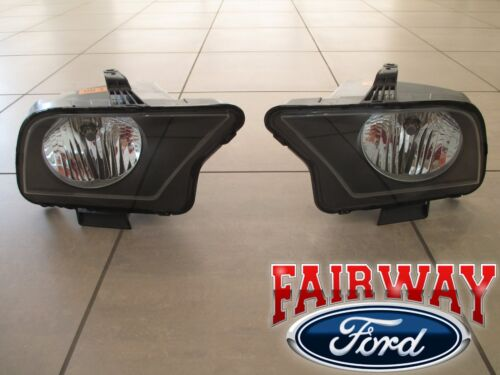 07 thru 09 Mustang SVT Shelby GT500  OEM Ford Halogen Head Lamps Lights PAIR <br/> Brand New OEM Genuine Ford Parts from a Ford Dealership