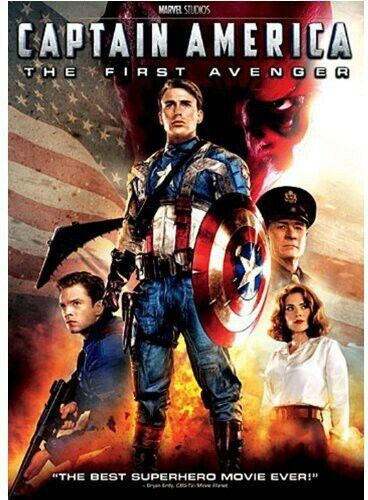 Captain America: First Avenger (2013, DVD NUEVO) WS (REGION 1)