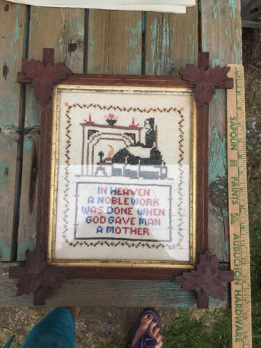 Adirondack Style Tramp Art Wood Picture Frame Sampler<br/>Picture Frames - 40024