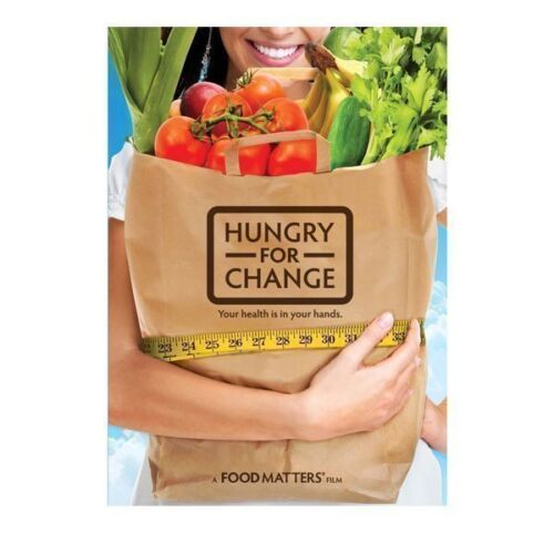 New Hungry for Change Health Documentary DVD <br/> Healthy Eating By Food Matters Brand