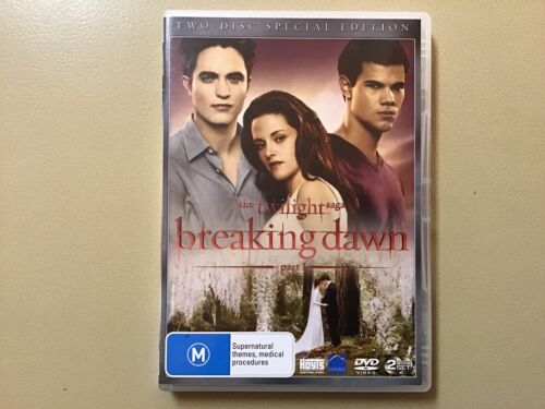 DVD, Twilight, Breaking Dawn, Kirsten Stewart, Robert Pattinson (D)