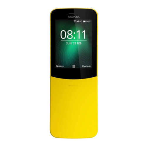 [Au Stock] - Nokia 8110 (4G, Keypad) - Yellow <br/> 7% off with code PRESS,  ends 25/04, eBay T&amp;C Apply