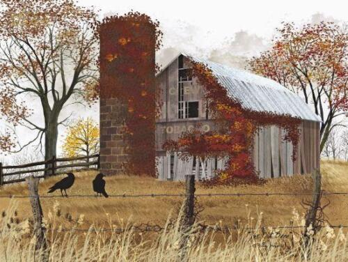 The Old Barn by Billy Jacobs Country Print 12x16
