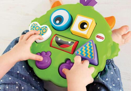 Fisher-Price SILLY SHAPE SORTING MONSTER PUZZLE Fun Baby Toddler Activity Toy