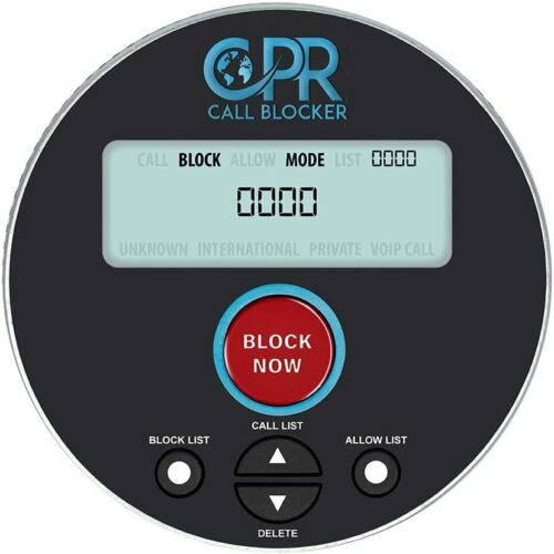 CPR V10000 Nuisance robocalls political calls landline home phone call blocker