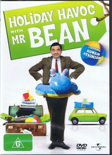 Holiday Havoc With MR BEAN Rowan Atkinson DVD NEW & SEALED Free Post
