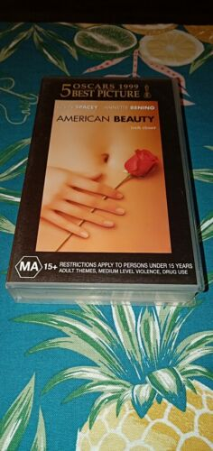 American Beauty - Kevin Spacey & Annette Bening - Vhs Video