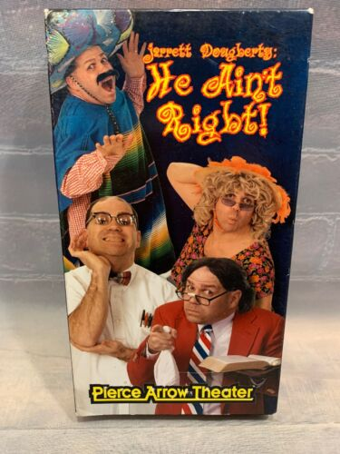 Jarrett Dougberty He Ain't Right VHS Tape Pierce Arrow Theater Branson Missouri