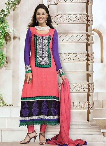 PURE GEORGETTE DESIGNER SALWAR KAMEEZ DUPATTA PAKISTANI INDIAN DRESS SUIT - 2015