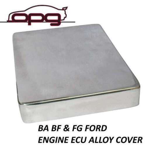 ALLOY ECU COVER BA BF FG 6 & 8CYL & FPV FORD XR6 XR8