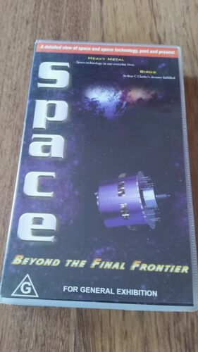 SPACE-  BEYOND THE FINAL FRONTIER. HEAVY METAL & BIRDS VHS VIDEO