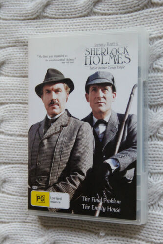 Sherlock Holmes: The Final Problem /The Empty House (DVD) R-4, LIKE NEW