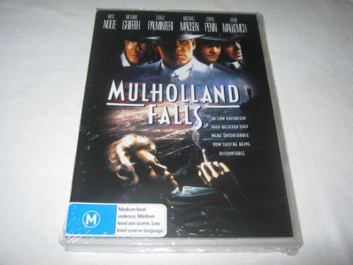 Mulholland Falls - Nick Nolte - Brand New & Sealed - DVD - R4