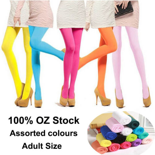 Womens Girls OPAQUE TIGHTS PANTYHOSE HOSIERY STOCKINGS BALLET DANCE DANCING