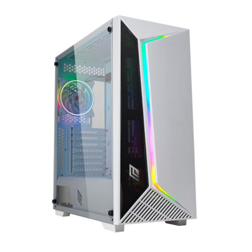 Case Pc Gaming Middle Tower Aigo 1x Usb 3.0 & 2x Usb 2.0 ATX No Ventole Offerta