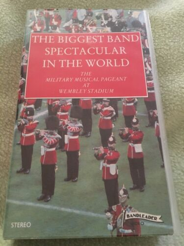 The Biggest Band Spectacular in the World Wembley Stadium 1981 VHS Video