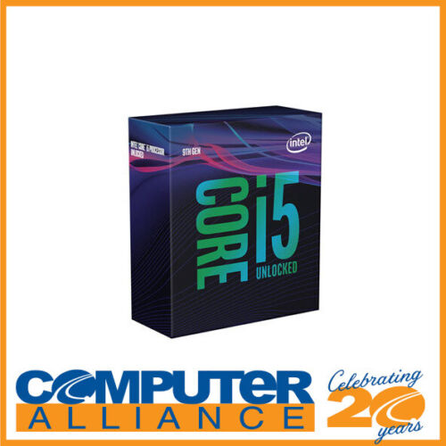 Intel S1151 Core i5 9600K 3.7GHz 6 Core 9MB Cache CPU PN BX80684I59600K <br/> 15% off with code PROCESS. Ends 18/11. T&amp;Cs apply.