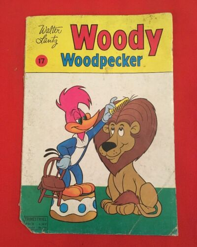 WOODY 17 WOODPECKER LANTZ PETIT FORMAT 1978 CONDITION CORRECT COMICS