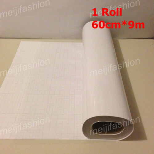 1 Roll VINYL Sticker Clear Transfer Film Paper Cutter Cutting Plotter 60cm*9m