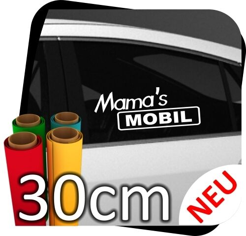 30cm Mama´s Mobile Girl Tussi Adesivo Tuning Sticker Styling N..8