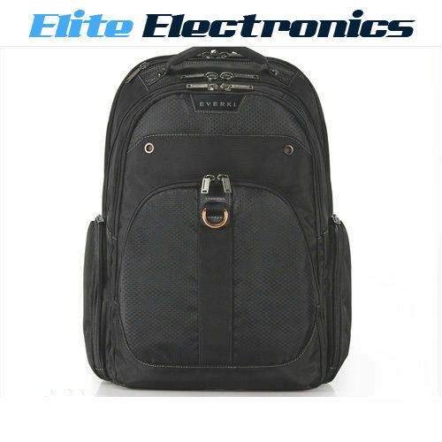 "EVERKI 13"" TO 17.3"" ATLAS CHECKPOINT FRIENDLY BACKPACK LAPTOP NETBOOK BAG EKP121"