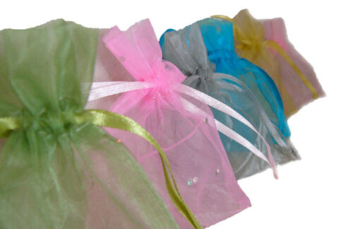 Organza Bags - Jewellery Wedding Bomboniere Candy Packaging - Free Post Shipping <br/> 20Colours Small7x10 Medium10x16 Large16x24 Stock in AUS
