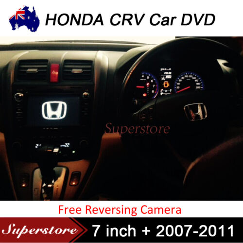 HONDA CRV 7 inch 2007-2011 Car DVD GPS Stereo Player Head Unit