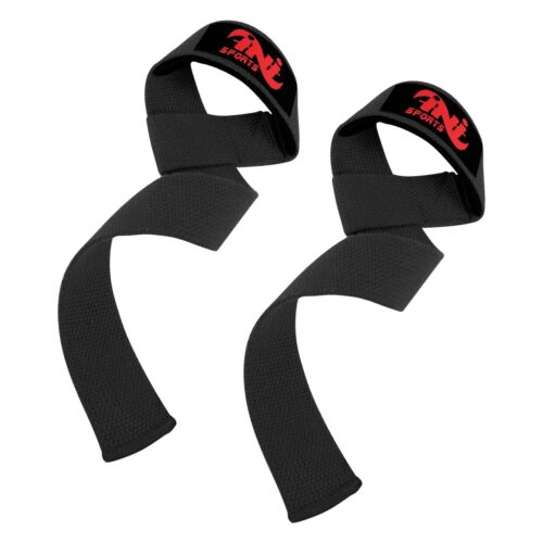 INI Weight Lifting Straps Training Gym Gloves Hand Bar Wrist Support