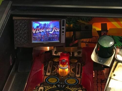 Top Holiday Gifts Indiana Jones Pinball mod - TV with VIDEO playback! NEW IMPROVED 2017!