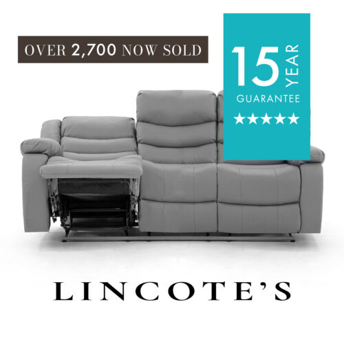 BELFAST LazyBoy Leather Recliner Sofa 3 + 2 Seater + Armchair + 1 Year Guarantee <br/> ALL COLOURS ARRIVING END OF APRIL BLACK ARRIVE MID MAY