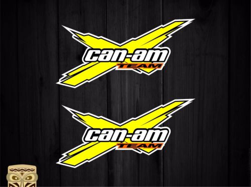 PEGATINA DECAL STICKER AUTOCOLLANT ADESIVI AUFKLEBER CAN AM BRP TEAM CAN-AM