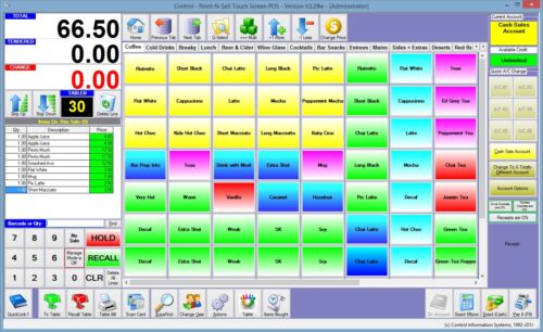 Inventory Stock Database Software With Barcodes &amp; POS  <br/> Brilliant Touch Screen Point of Sale Business Software
