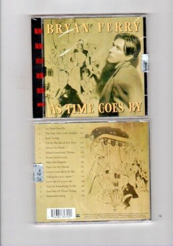 BRYAN FERRY - AS TIME GOES BY - CD NUOVO SIGILLATO