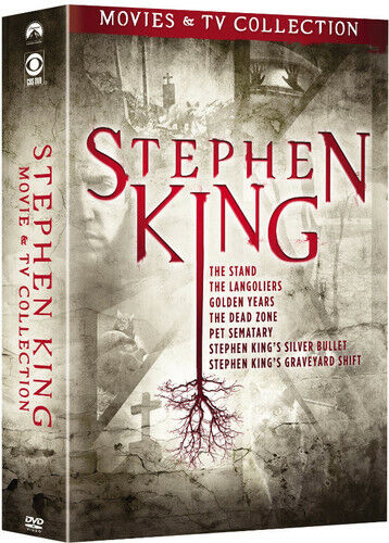 Stephen King Tv & Film Collection (2018, DVD NEW)9 DISC SET