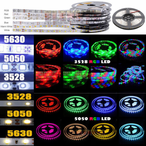 Wholesale 3528 5050 5M/10M/15M/20M RGB SMD LED Roll Strip Light 12V Waterproof <br/> USA Stock! Fast Free shipping! 1 DAY Handling! !