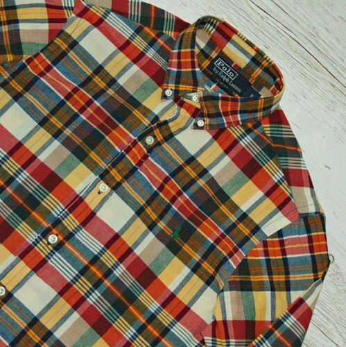 EXTRA RALPH LAUREN MULTICOLOR SHIRT SIZE S - SMALL SLIM FIT