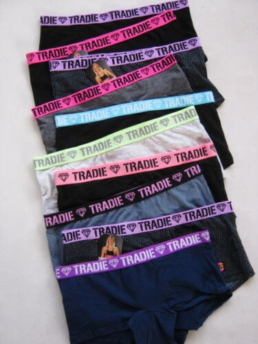 4x Women's Underwear Short Tradie Lady Cotton Shortie