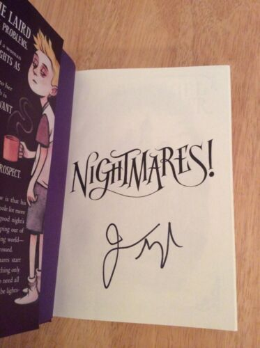 Signed - Nightmares! by Jason Segel and Kirsten Miller (Hardcover)+ Pic