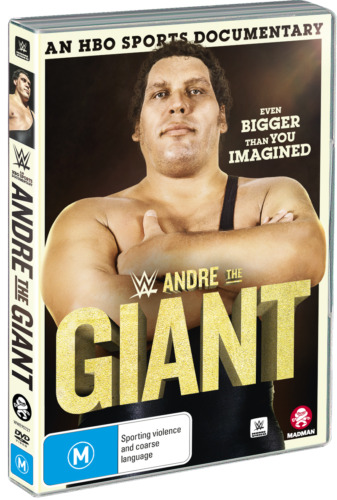 BRAND NEW WWE : Andre The Giant (DVD, 2019) *PREORDER R4 Documentary