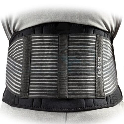 Back Support Brace Belt Lumbar Lower Waist Double Adjust by Flexibrace <br/> SUPER LOW PRICE!. 17+ YEARS SELLING AT EBAY, BUY TODAY.