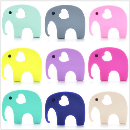 Elephant Safari Silicone- Baby Teether Gum Massager/Sensory Processing Autism